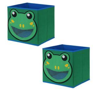 Children's Storage Box - Frog *Buy 2 for £5*