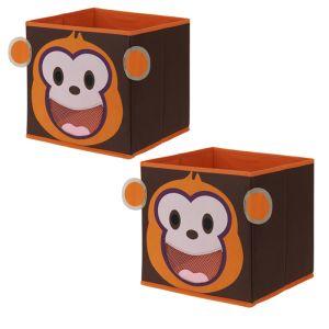 Children's Storage Box - Monkey *Buy 2 for £5*