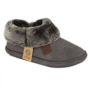 Jo & Joe Women's Chiltern Slippers - Charcoal
