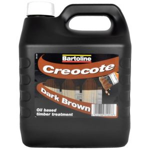 Bartoline Creocote Dark - 4 litres