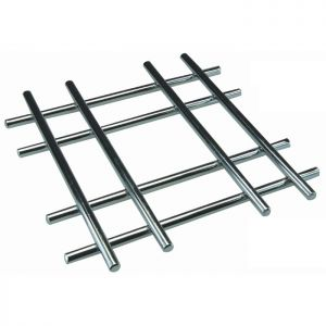 Apollo Chrome Cross Trivet