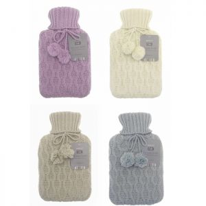 Country Club Chunky Knit Hot Water Bottle