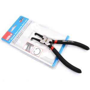 Hilka Inside Bent Jaw Circlip Pliers - 7 Inch