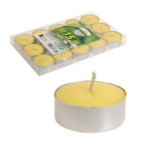 Citronella Tealights - Pack Of 15