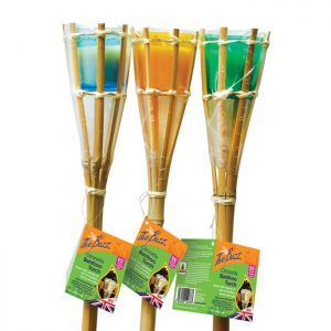 The Buzz Citronella Bamboo Torch