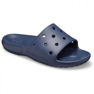 Crocs Women's Classic Sliders - Navy