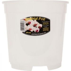 Growth Technology Orchid Pot, 19cm - Clear
