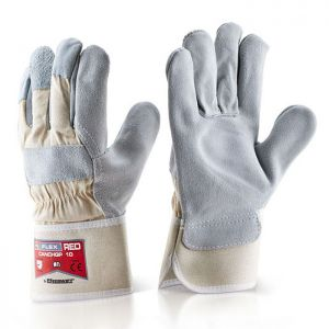 Click Canadian Red High Quality B-Flex Gloves