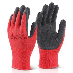 Click Multi-Purpose Latex Poly-Cotton Gloves