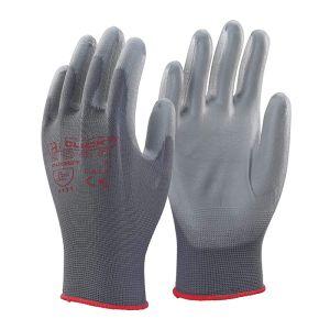 Click PU Coated Gloves – Grey