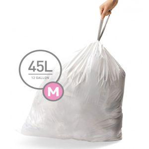 Simplehuman Code M Custom Fit Bin Liners, 45 Litre - 100 Pack