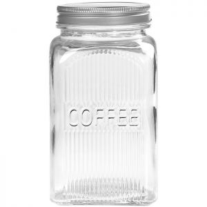 Tala Embossed Glass Coffee Canister