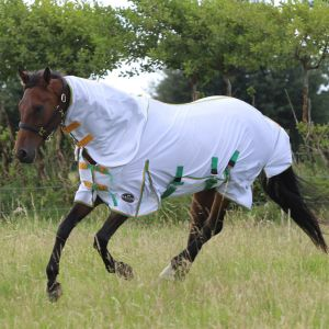 Gallop All in One Combo Fly Rug - White