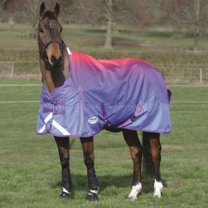 Weatherbeeta ComFiTec Plus Dynamic Standard Neck Lite Rug - Purple Ombre