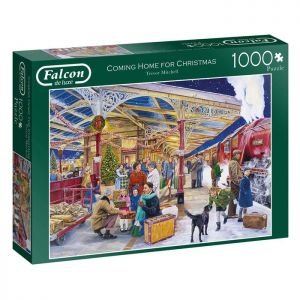 Coming Home for Christmas Jigsaw Puzzle by Falcon – 1000 Pieces