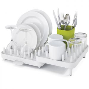 Joseph Joseph Connect Adjustable Dish Rack - White