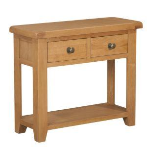 Torino Oak Console Table