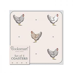 Cooksmart Coasters, Pack of 4 - Farmers Kitchen