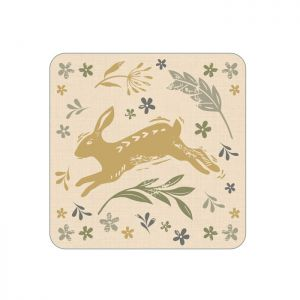 Cooksmart Coasters, Pack of 4 - Woodland