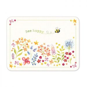 Cooksmart Placemats, Pack of 4 - Bee Happy