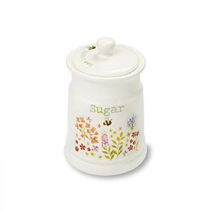 Cooksmart Sugar Canister - Bee Happy