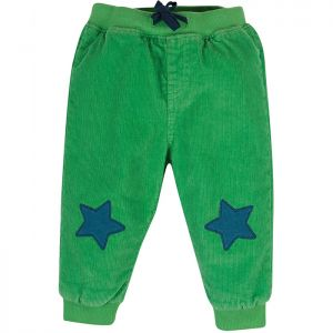 Frugi Baby Cassius Cord Trousers – Green Star
