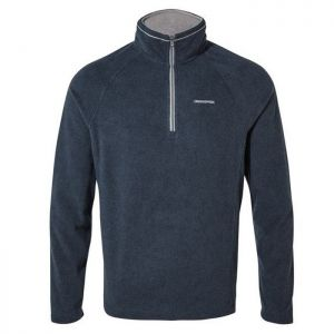 Craghoppers Corey Half Zip Fleece - Blue Navy Marl