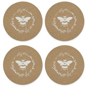 Cooksmart Set Of 4 Placemats  - Bumble Bee