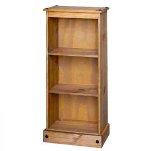 Stamford Natural Low Narrow Bookcase