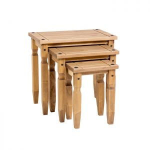 Stamford Natural Pine Nest Of Tables
