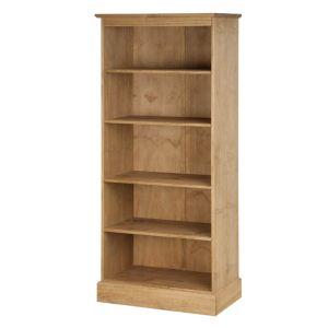 Montana Waxed Pine Tall Bookcase