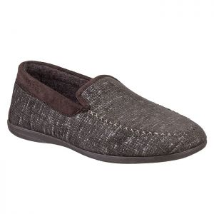 Cotswold Men's Stanley Full Slippers – Brown