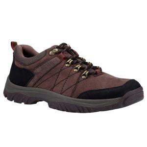 Cotswold Men's Toddington Lace-Up Walking Shoes – Brown