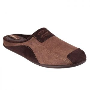 Cotswold Men's Westwell Mule Slippers – Brown