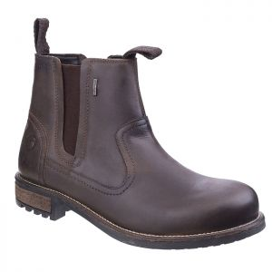 Cotswold Men's Worcester Chelsea Boots – Brown