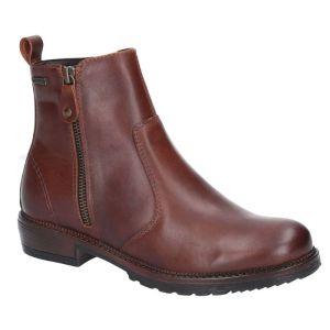 Cotswold Women's Ashwicke Ankle Zip Boots – Brown