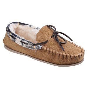 Cotswold Women's Kilkenny Moccasin Slippers – Tan