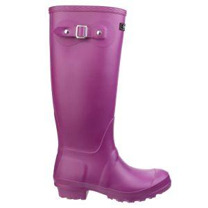 Cotswold Women's Sandringham Wellington Boots - Berry