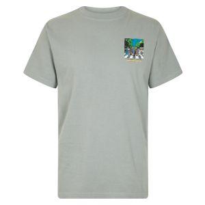 Weird Fish Crabbey Road Artist T-Shirt - Gunmetal
