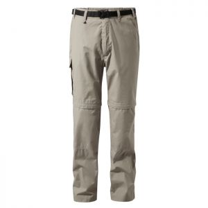 Craghoppers Men's Kiwi Convertible Trousers – Regular, Beach