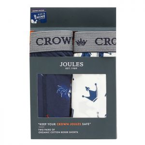 Joules Men's Crown Joules Underwear, 2 Pack - Rise & Shine