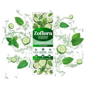 Zoflora Concentrated Disinfectant, 250ml – Cucumber & Mint