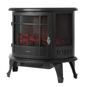 Warmlite 2000w Curved Electric Fire Stove