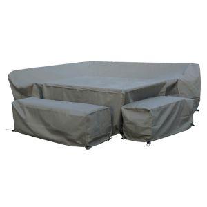 Bramblecrest Portofino 10 Seater Dining Set Protective Cover Set