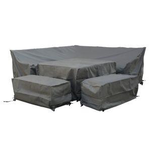 Bramblecrest Tetbury 8 Seater Square Dining Set Protective Cover Set