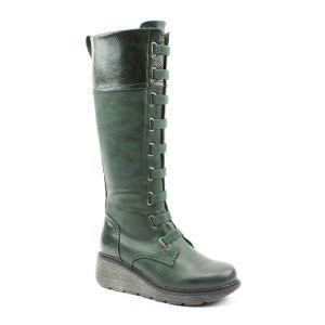 Heavenly Feet Women's Dakota Tall Boot – Forest Reptile