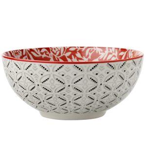 Maxwell & Williams Boho Bowl, 12.5cm - Damask Red