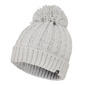 Dare 2b Women's Convoke Fleece Lined Knit Bobble Hat – Argent Grey