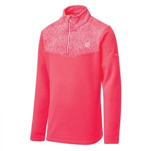 Dare 2b Children's Mountfuse II Half Zip Fleece – Neon Pink