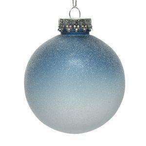 Decoris Ombre Shatterproof Bauble – Winter Sky Assorted